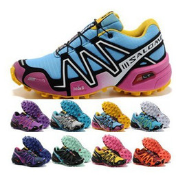 Wholesale 11 Colors WOMEN s Salomon Xa Pro Waterproof Salomon Women Zapatillas Mujer Athletic Shoes Size