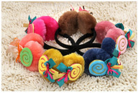 Wholesale 2013 New Arrival Fashion Cute Winter Women s Children s Ear Muff Donuts and Bowknot pattern