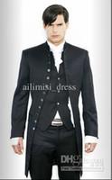 Wholesale New Mens stylish slim fit wedding Dress Suit Vest pants Clothes Pants Vest shirt