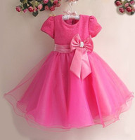 TuTu Spring / Autumn Ball Gown Free shipping HOT Selling Children Kids Clothing Girls Dresses Kids Birthday dress