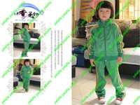 baby sportswear - 2014 New Kids Sportswear sports suit jacket Long pants boy s Outfits Sets baby clothes Clothing SANYECAO009