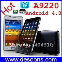 Wholesale Star A9220 MTK6573 Android Mobile phone G GPS TV Wifi inch Capacitive WCDMA GSM i9220 android phone
