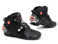 Wholesale automobile race boots pro automobile race boots motorcycle boots rideshoes boots