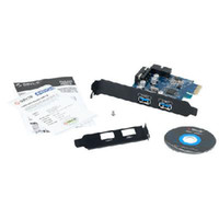Wholesale High quality ORICO PVU3 O2I USB3 PCI Express Card with Two Rear Ports and a USB3 PIN Adapter Dropshipping