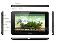 Wholesale Ainol novo7 elf ii quot Capacitive HD Screen Amlogic M6 GHZ Dual Core Android GB GB WIFI HD x600 Tablet Pc