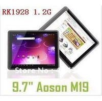 Wholesale quot Capacitive Android Ultra Slim Tablet PC G GB CPU Ghz IPS build in G Capacitive RK2918 Aoson M19