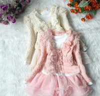 Cheap Girl cake dress Best Spring / Autumn Long baby clothes