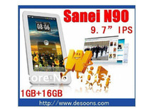 Wholesale Original Sanei n90 tablet pc quot IPS android A10 Ghz Dual camera GB DDR3 GB