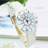Men's gift item wholesale - 2013 New Item Leather Belt Watch Quartz Watch Cool Mens watches Best Gift for Christmas