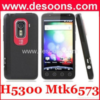 Wholesale Hero H5300 Android phone MTK6573 GPS WIFI quot FWVGA capacitive touch screen