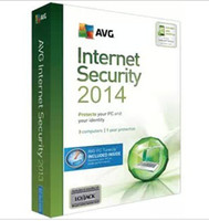 Antivirus & Security Home Windows NEW AVG Internet Security 2015 Antivirus Software 3Years 3PC from 2015 to 2018 3 users english version Activation code