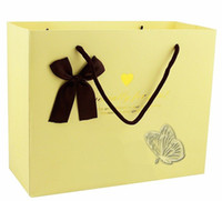 Wholesale high grade gold foil craft gift bag gift box christmas gift bag Candy bags freeshipping
