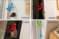 Wholesale Wall Climbing Boy Magnetic Key Holder Magnetic Climbing Man Key Holder