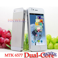 Wholesale MTK Hero H2000 Dual Core Android4 with inch screen GHZ GPS G GB Cell Phone WEIL