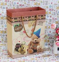 Christmas paper bags - Kraft paper bags factory direct Korean version bag packing bags paper bags gift bags gift wrapping