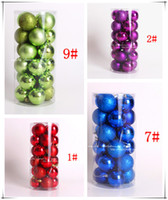 Wholesale HOT HOT SALE Attractive Appearance Very Practical Colorful Balls for Christmas Tree Decoration Glass Christmas Ball Ornament