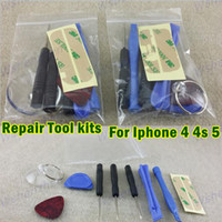 Wholesale 9 in REPAIR PRY KIT OPENING TOOLS With Point Star Pentalobe Torx Screw Screwdriver For APPLE Iphone5 s c iphone s