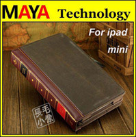 Wholesale High quality Retro Magic books design PU leather smart cover case for ipad mini stand holder with retail box