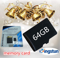 Wholesale GB Class Memory SD Card TF Memory Card micro sd card TF64GB card with Free Retail Blister Package