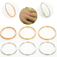 Band Rings South American Unisex Hotselling Thin Shiny Gold Silver Tone Rings Midi Knuckle Ring 80Pcs lot Women Jewelry [JR14110 JR14111(80)]