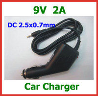Wholesale 9V A Car Charger for Tablet PC Aoson M19 Pipo M2 M3 M8 M8 G Chuwi V3 SmartQ T19 T20 T30 Car Power Adapter Coverter