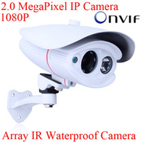 Wholesale Onvif H MegaPixel Fulll HD P x1080 Resolution Array IR Outdoor IP Network Camera