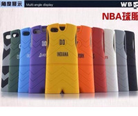 Wholesale fashion NBA football BULLS ROCKETS New York clothes detached in1 case cover skin shell for iPhone G S with retail packing