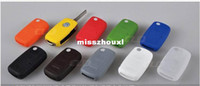 Wholesale Silicone car Key Cover Keyless Entry Remote Fob FIT VW Volkswagen JETTA GTI MK6 Golf R Bora Soft and Durable
