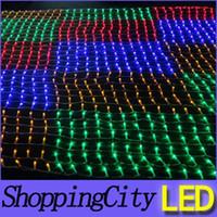 ultra AC220V LED net light meshwork lamps christmas decorati...