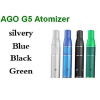 Electronic Cigarette Atomizer  Hot SELL AGO G5 Dry Herb Atomizer Clearomizer for Wind proof electronic cigarette herb vaporizer G5 pen style dry herb vaporizers ecigarette