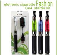 Bon Marché Commencer ego kit-EGO Kit de Démarrage Atomiseur CE4 Clearomizer Cartomiseur EGO-T, EGO-W CE5 CE5S Cigarette Électronique E-Cigarette, 650mah/900mah/1100mah Batterie