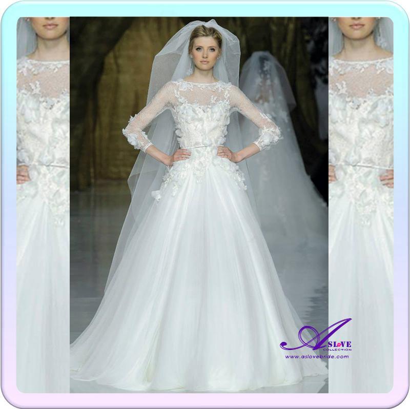 Discount elie saab dresses for sale 2014 new arrival a for Elie saab wedding dress for sale