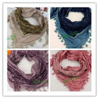 Cheap Autumn and winter silk bali yarn wool cashmere yarn scarf silk scarf cape bib 11 color