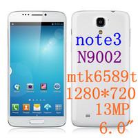 Cheap Star star n9002 mtk6589 phone Best 6.0 Android star n9002 note3 n9000