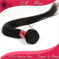 Brazilian Hair Straight 12in to 26in Unprocessed Brazilian Virgin Hair 3 pcs Lot Natural Color Free Shipping Silky Straight 5A grade virgin remy hair bundle
