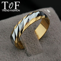 Three Stone Rings flat ring - TR0208 Promotion Christmas Gift Fashion Women Rings flat band Dianty K Gold Plated Ring
