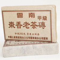 Wholesale 30 Years Yun nan Puer Tea Date aroma Old Tea Brick Jingmai g Ripe Puer Tea Cake Health Care Weight Loss
