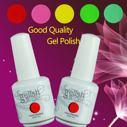 Wholesale Free DHL TNT Shipping Gelish Soak Off UV Gel Nail Polish Fashion Colors Available