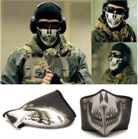 Wholesale New Call Of Duty COD MW2 Ghost Skull Mask Biker Balaclava Face Head Warmer