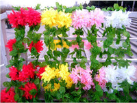 Wholesale Article African chrysanthemum flower cane adornment fiber silk flowers artificial flowers plastic flowers