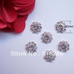 (J0019) 12mm rhinestone embellishment without loop rhinstone cluster