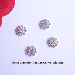 (J0019) 8mm rhinestone embellishment without loop rhinstone cluster,cute products