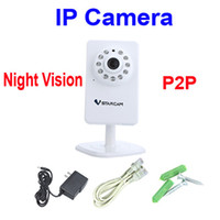 Wholesale T6892WP P2P IP Camera Wireless Wifi Security Plug amp Play Micro SD Card Storage Megapixel Night Vision