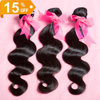 Queen hair products 3 or 4pcs/lot 4pcs 8~30 inch Queen love hair virgin human brazilian body Wavy hair 100% human hair extensions bundles cheap brazilian hair weave bundles free shipping