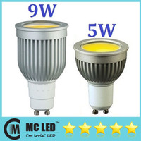 Wholesale Super Bright Lights W W Led COB Bulbs Light GU10 E27 E26 E14 MR16 Warm Natural Cool White Led Spotlights Angle LM LM V