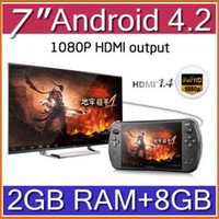 android game player - DHL Android JXD S7800B S7800 game console RK3188 Quad core GB RAM GB ROM quot new IPS game player tablet pc JY07