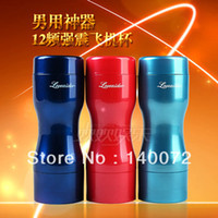 Cheap 2013 New Arrival 12 Speed Powerful Vibration Anal Pussy Oral Masturbation Cup,Fake Ass Vagina Masturbator Sex Toys for Man