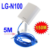 Wholesale Long Range Outdoor USB Mbps M Wifi Wireless Adapter with Antenna m Cable