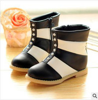 Winter Snow Boots Ankle Free shipping 2013 baby girls cotton shoes high plate wave strong personality ugg boots PU tong tangerine 6 PCS