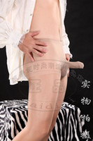 Wholesale New DOYEAH Sexy Men s Lingerie Deniers Sheer Full Leg Pantyhose Leggings Tights w Penis Sheath cm